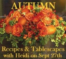 Autumn Recipes & Tablescapes
