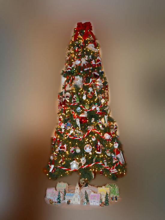 Christmas tree lights edit e-mail