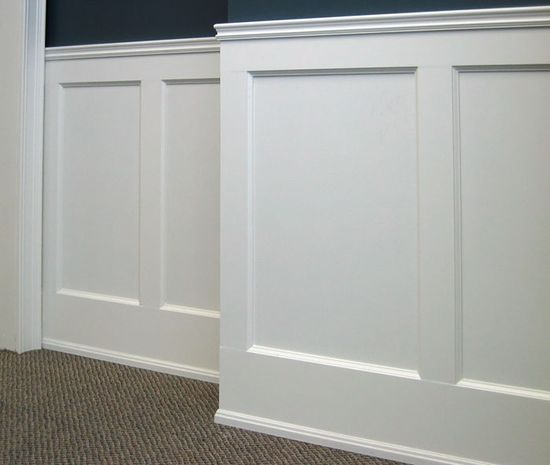 chair rail and wainscoting 2
