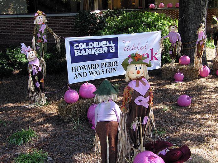Pink Halloween Display 1