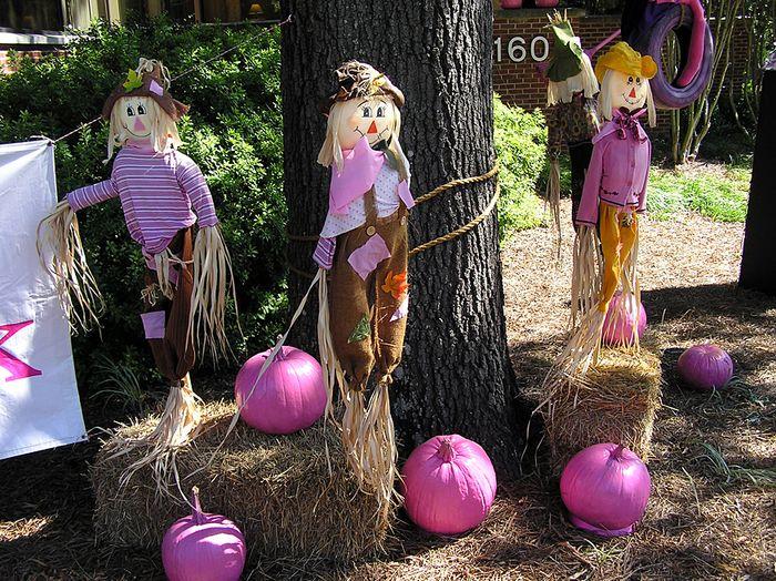 Pink Halloween Display 3