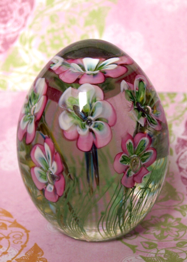 Pink Flower Paperweight edit e-mail 003