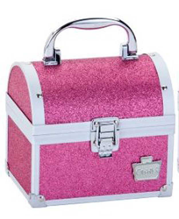 Glitter makeup case