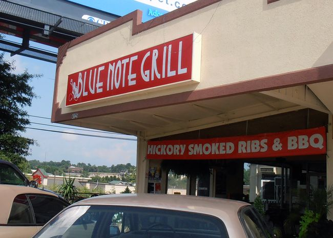 The Blue Note Grill For Blue Monday