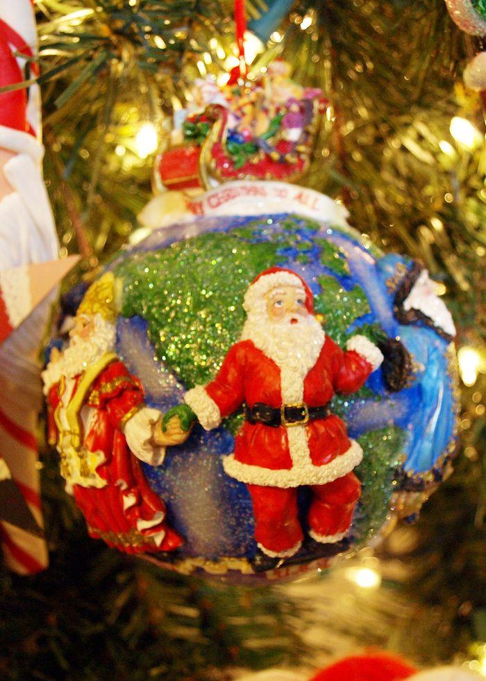Around The World Ornament edit