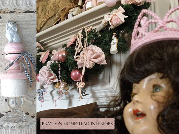 French doll Brayton Homestead Interiors for Pink Saturday post