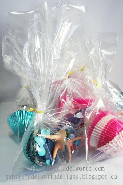 Cupcake Liner Tutu Ballerina Kits