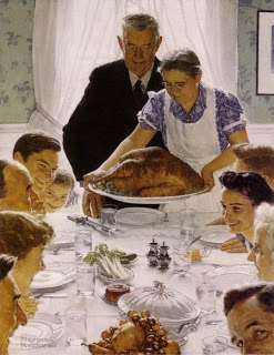 Thanksgiving norman-rockwell