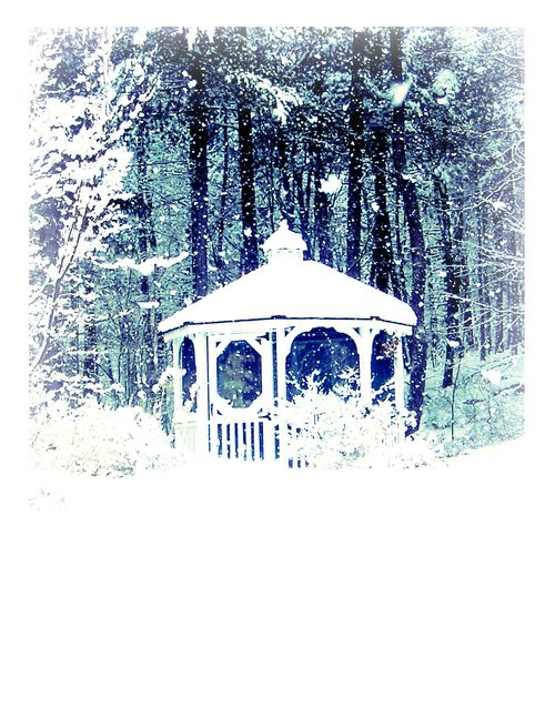 Advent Day 7, Snowy Gazebo