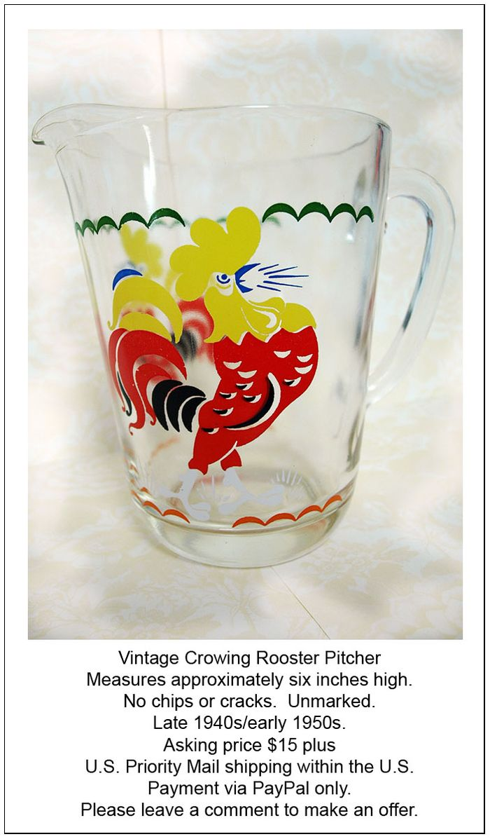 Rooster Pitcher edit e-mail
