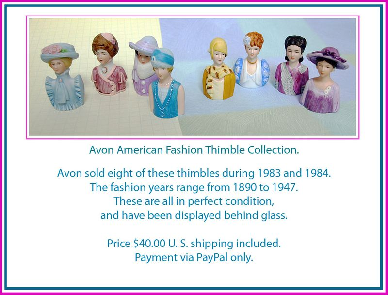 Avon Thimbles ad