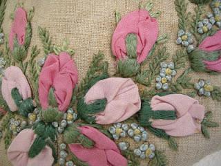 Vintage Rolled Roses