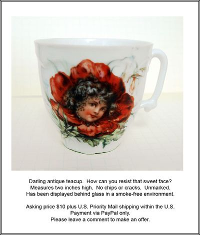Portrait Teacup ad