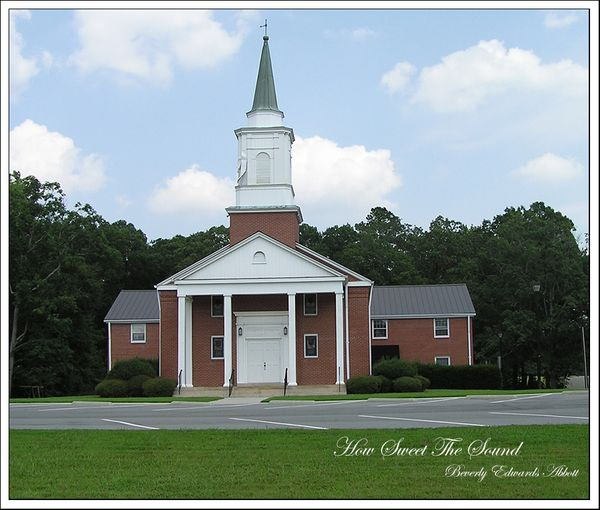 Mt Pisgah Baptist Church Apex NC e