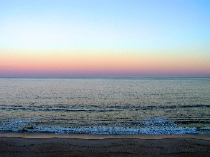 Sunrise Carolina Beach NC ee