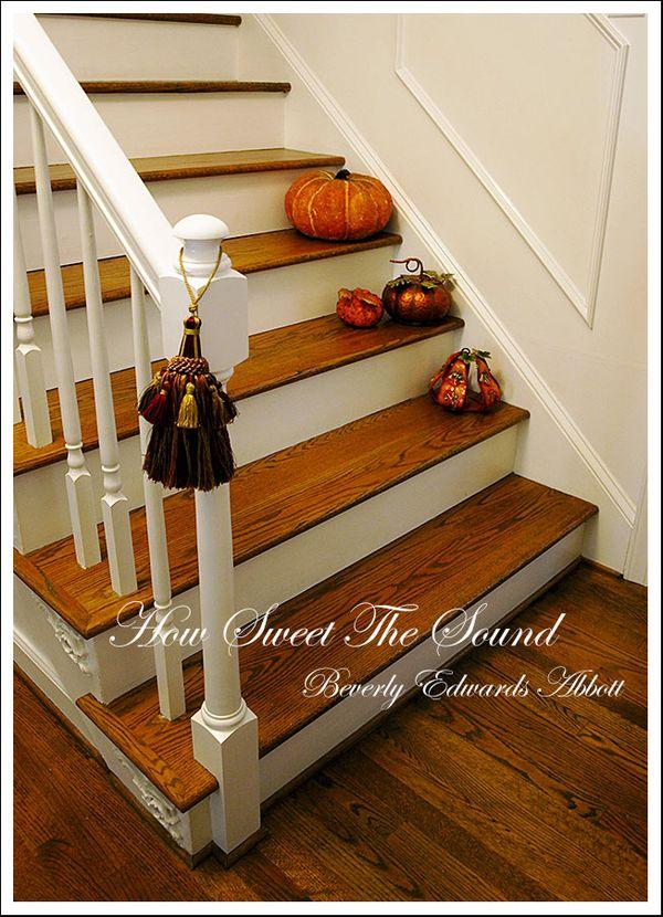 Autumn Foyer Stairway