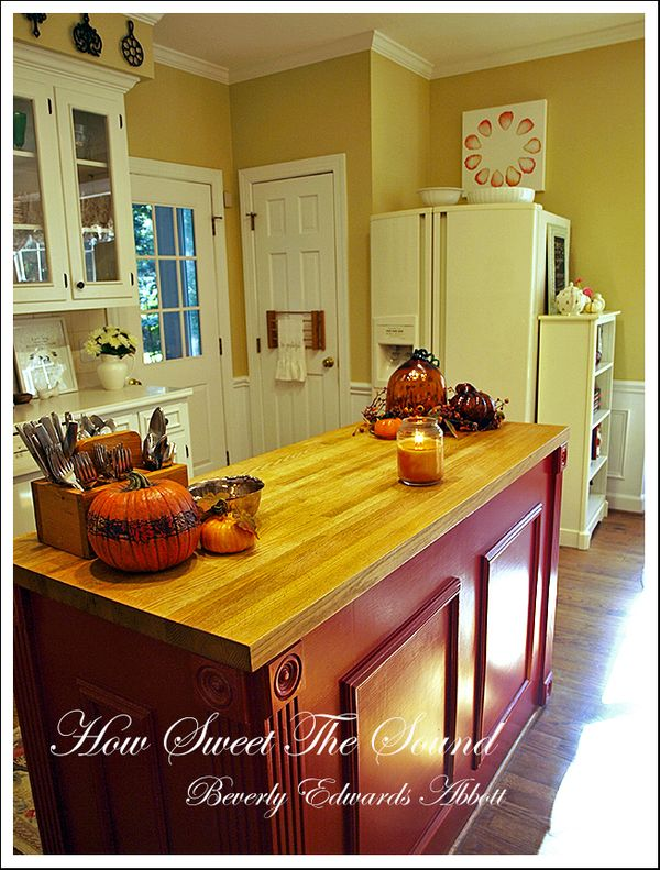 Autumn Kitchen Island