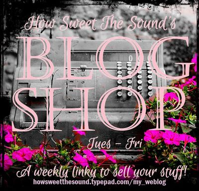 Blog shop button