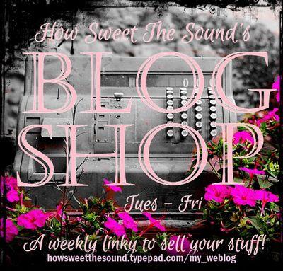 Blog shop button