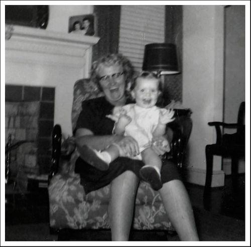 Beverly and Essie Edwards November 1953 e