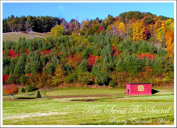 Autumn in Jefferson North Carolina