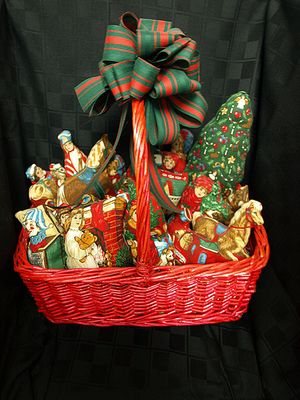 Basket of Ornaments