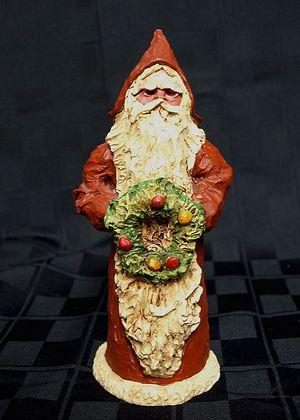Santa by Allred Gray