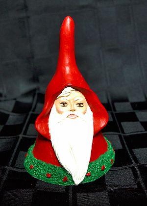 Bell Shaped Santa