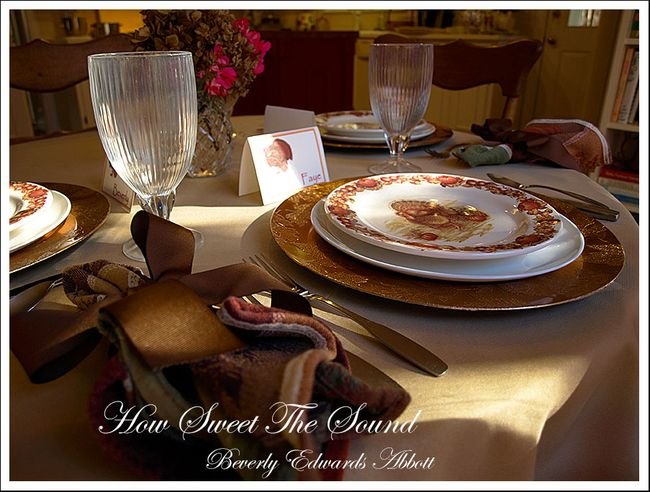 Thanksgiving Breakfast Room Tablescape 2