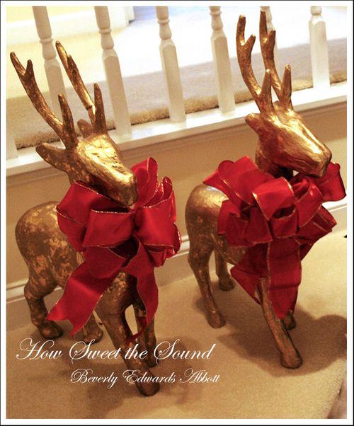 Christmas Stairway Reindeer