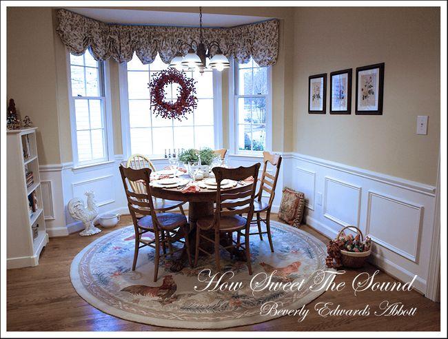 Christmas Breakfast Room