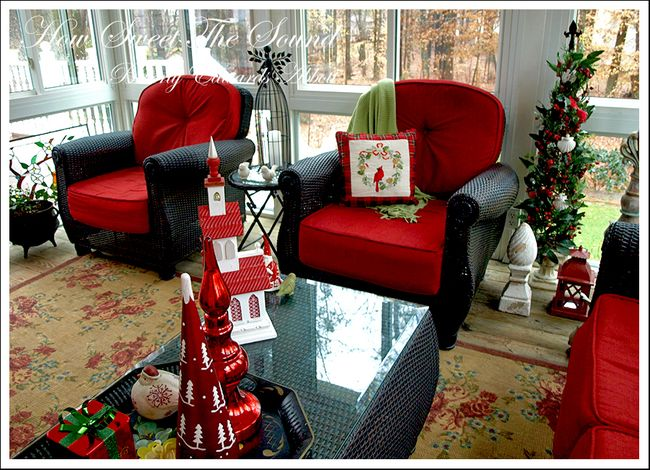 Christmas Sunroom 4