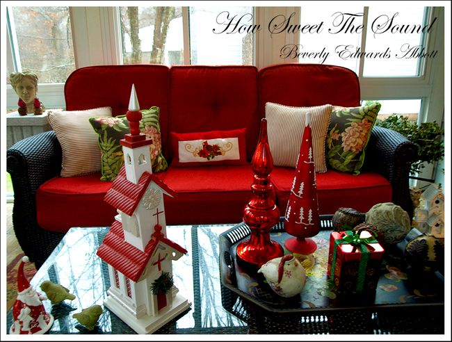 Christmas Sunroom 5