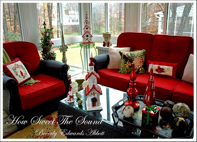 Christmas Sunroom 3