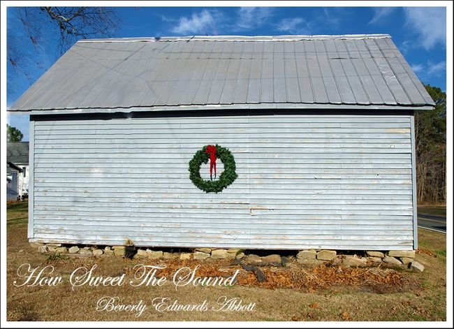 Epsom North Carolina Christmas Barn