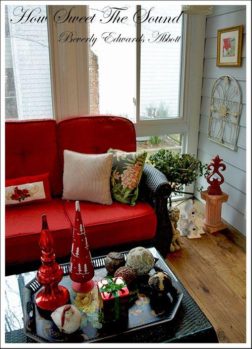 Christmas Sunroom 2