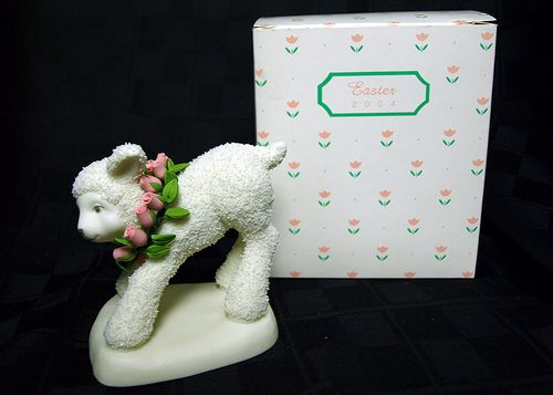 Department 56 Easter Lamb 2004