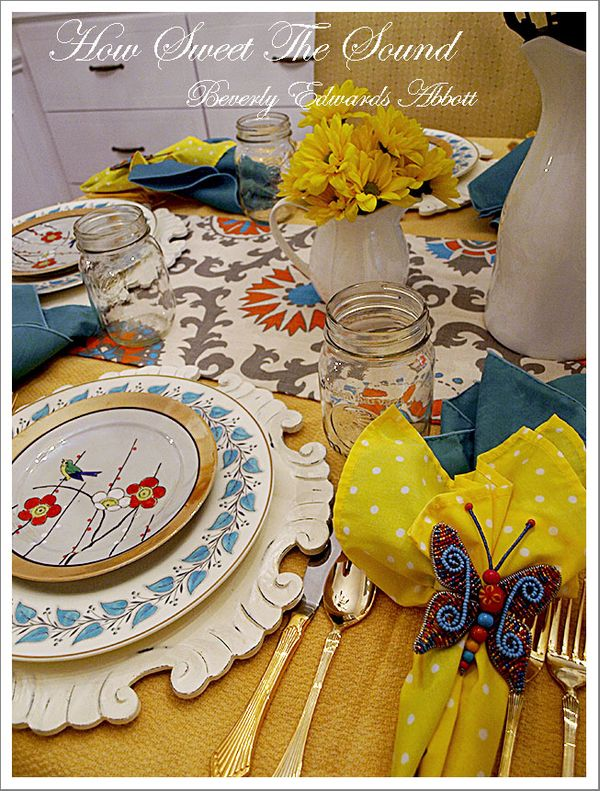 Easter Tablescape Spring