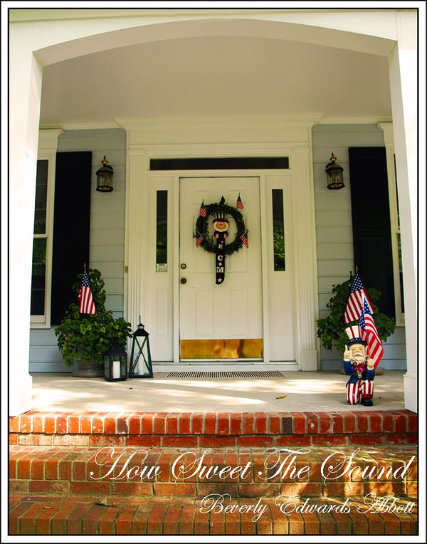 Fourth of July Front Entry