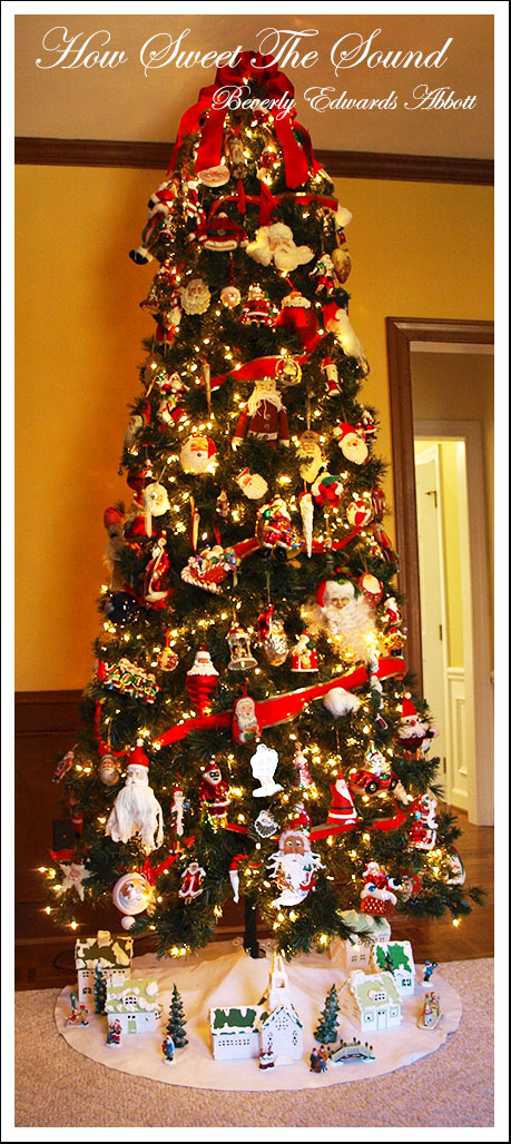 Christmas Family Room Tree