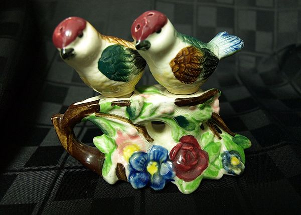 Birds On Branch Salt and Pepper Shakers