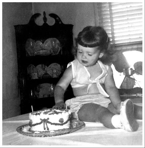 Beverly 2nd Birthday 07 26 1954