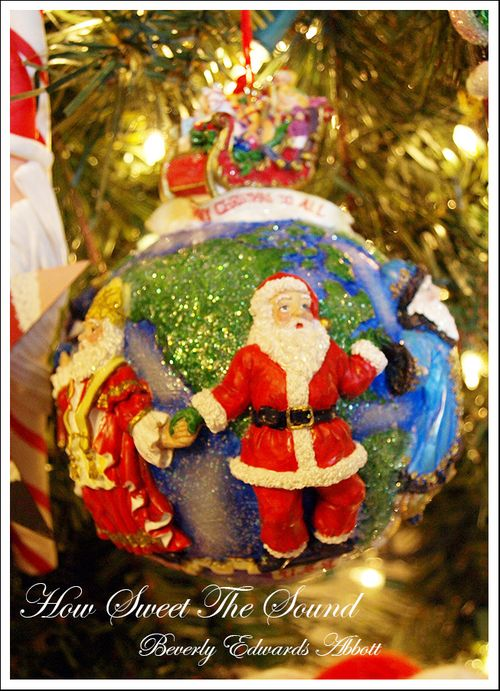 Around The World Ornament edit