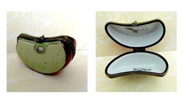 Apple Slice Limoges Box Ad