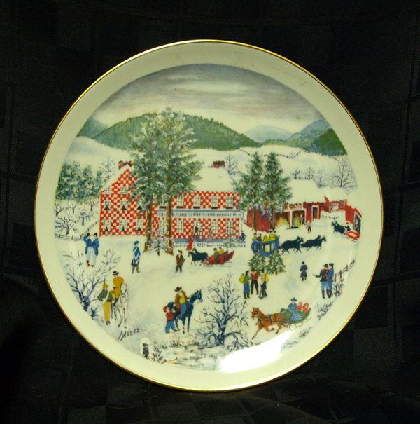 Grandma Moses Plate