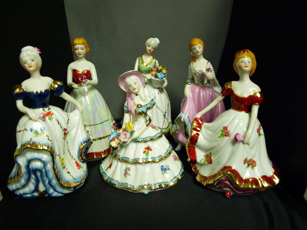 Set of Six Ladies