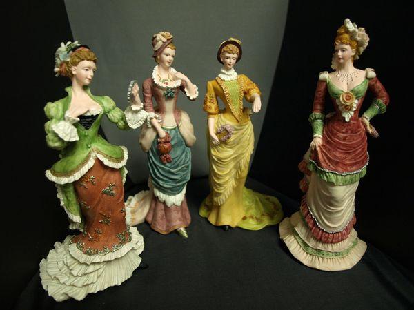 Set of Four Ladies