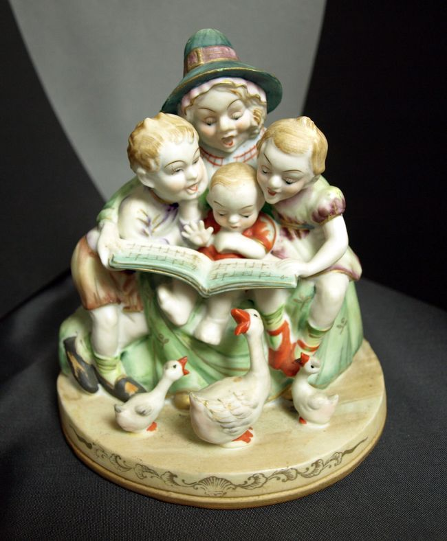 Mother Goose Figurine