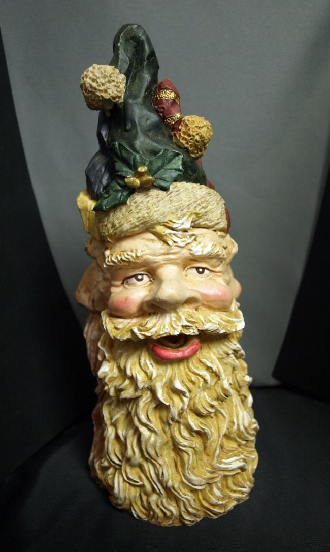 Three Face Santa