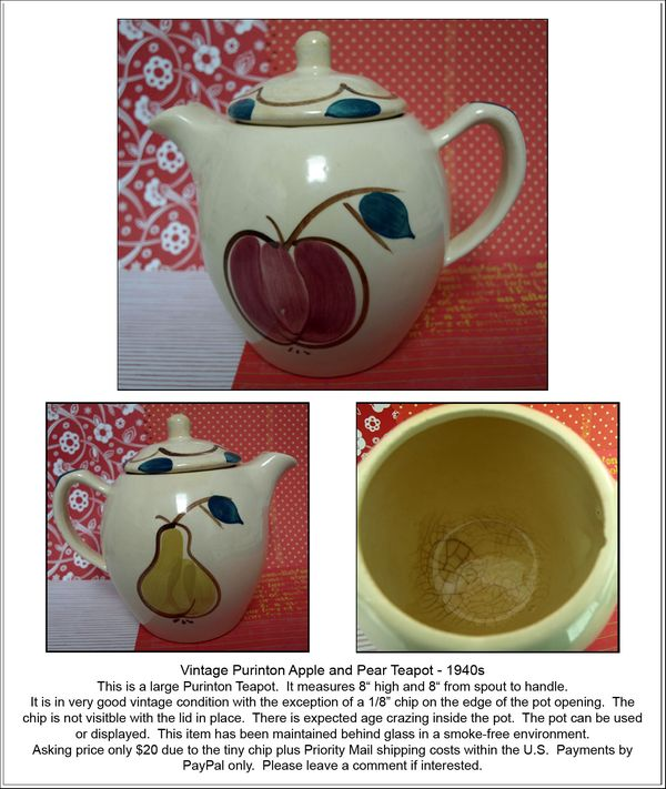 Teapot ad